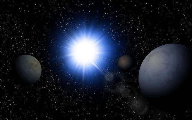Estrella similar al sol devora a planetoide