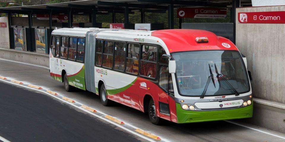 Mexibús y Mexicable dan servicio gratuito por contingencia ambiental - Foto de Edomex Informa