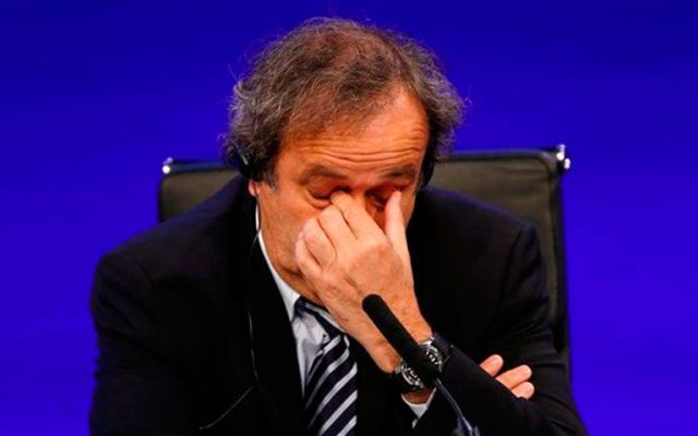 Suspenderían por varios años a Michel Platini - Foto de AP