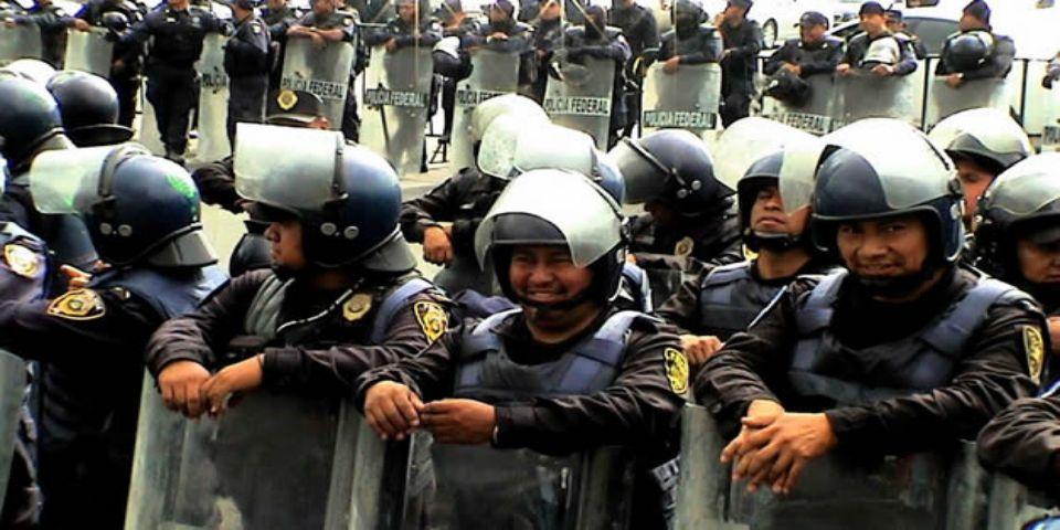 Cuatro mil policías acompañarán la Marcha del 2 de Octubre - Foto de Quadratín