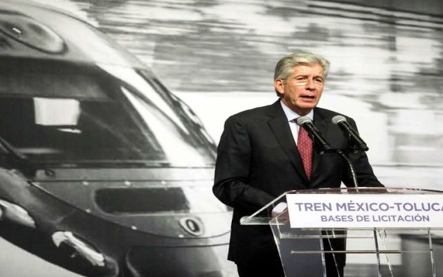 Confirma SCT cambio de trazo del tren México-Toluca