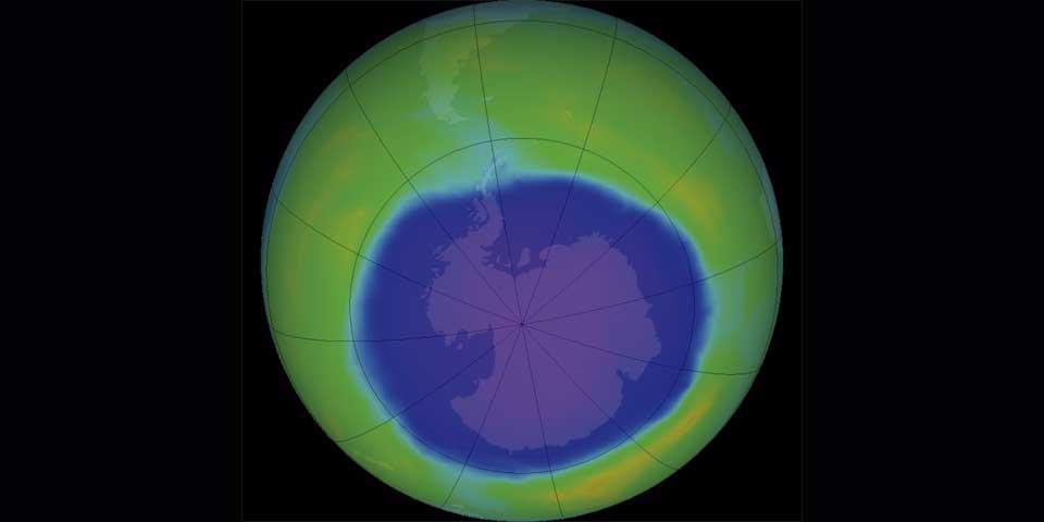 Se expande agujero en la capa de ozono sobre Antártida: ONU - Foto de NASA
