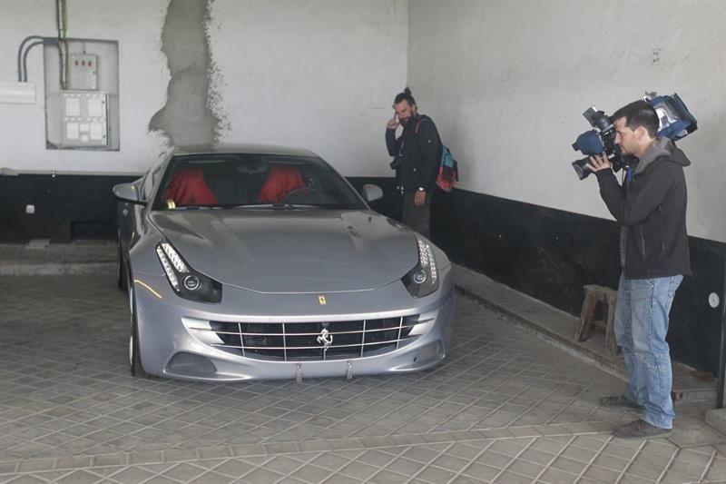 Subastaran Ferrari de Rey Emérito - Ferrari // Foto de Europapress