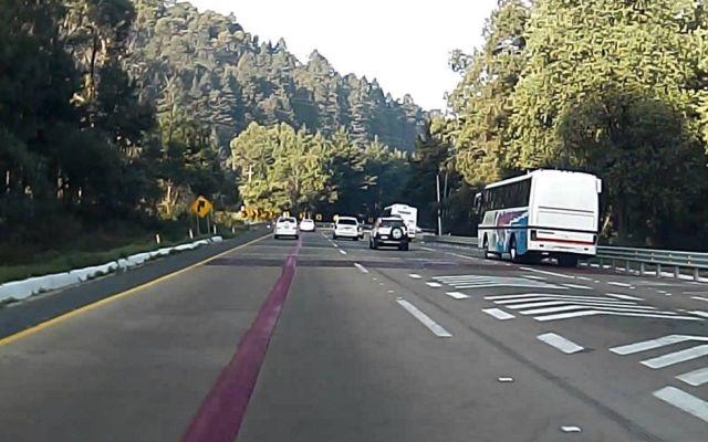Cerrarán la carretera México-Toluca - México-Toluca. Foto de internet