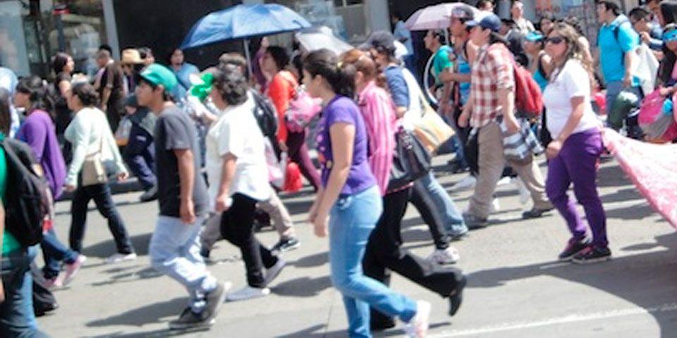 Prevén caos vial por manifestaciones en el D.F. - Foto de Internet