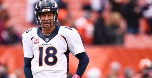 Gana Broncos pese a mal juego de Manning - Peyton Manning nu tuvo un buen día - foto de Twitter