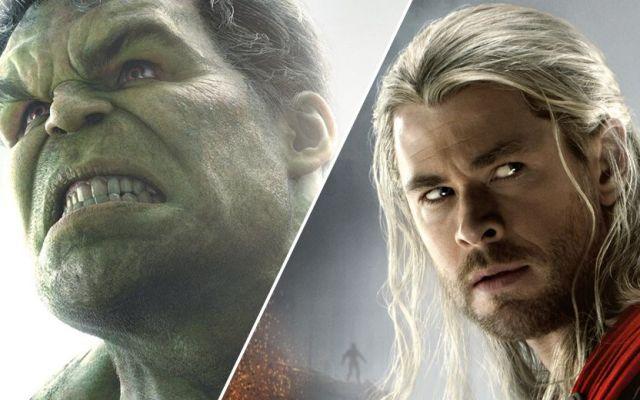 Nueva película de Thor tendrá la participación de Hulk - Thor unirá fuerzas con Hulk en la nueva película de Marvel - Foto de hypable.com