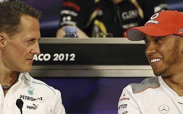 Lewis Hamilton criticó a Michael Schumacher - Foto de social24.it