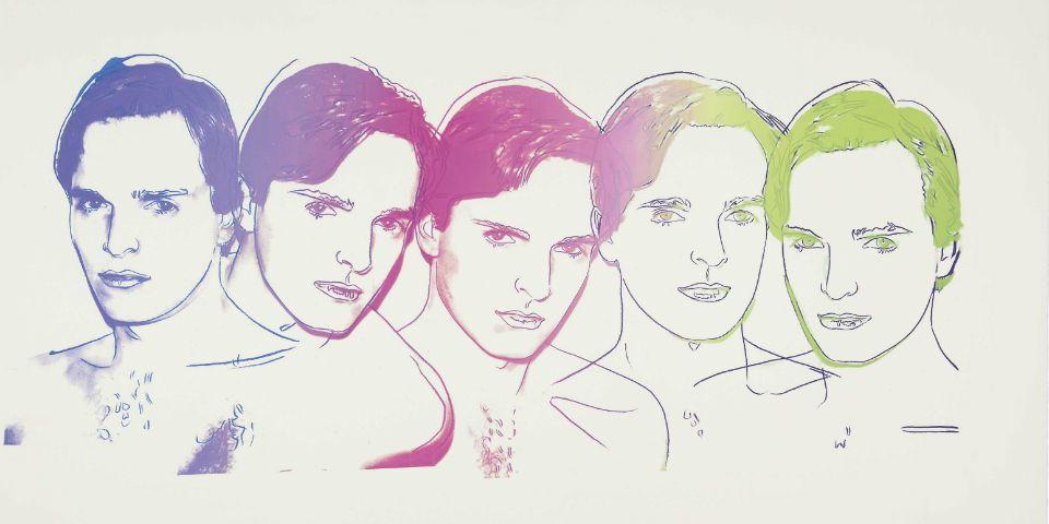 Miguel Bosé subastará dos cuadros de Andy Warhol