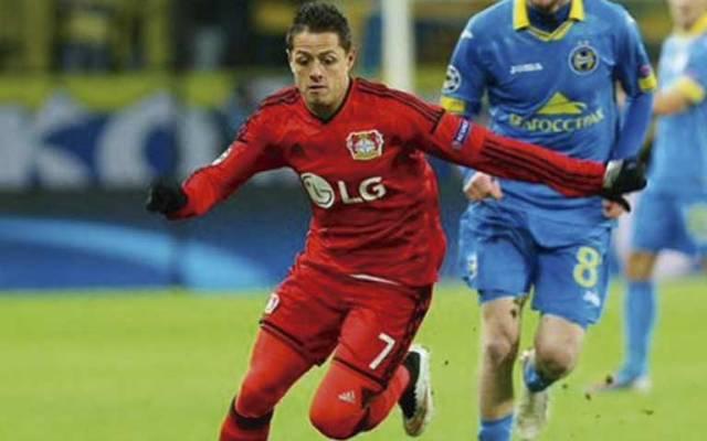 Chicharito se queda sin marcar en empate del Leverkusen - Foto de EFE