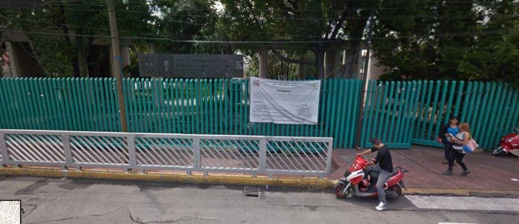 Regresan a clases en preparatorias del Distrito Federal - Preparatoria Salvador Allende - Foto de Google Maps