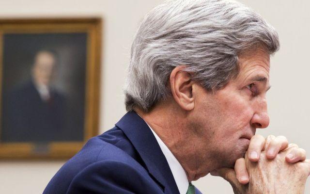 """Conflicto Israel-Palestina puede quedar """"fuera de control"""": Kerry"""