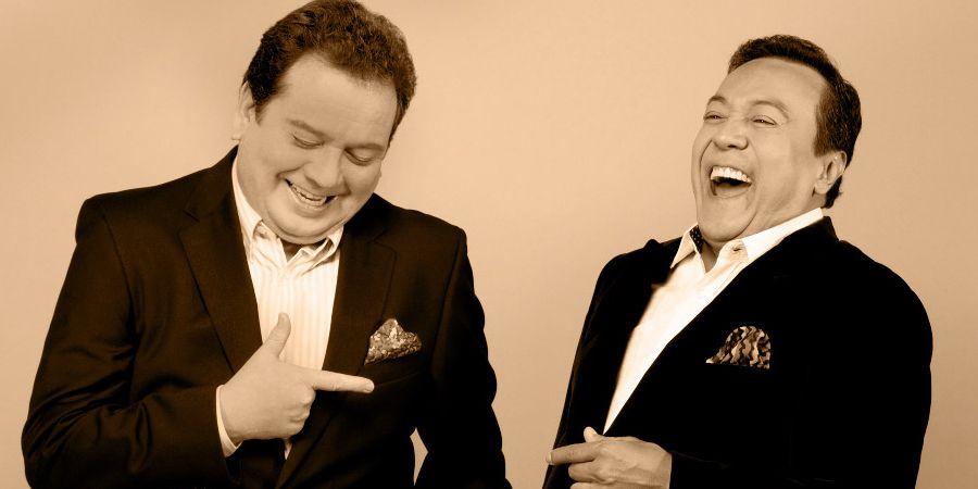 Jorge Muñiz y Carlos Cuevas alistan noche bohemia y romántica - Jorge Muñiz y Carlos Cuevas.// Foto: OCESA