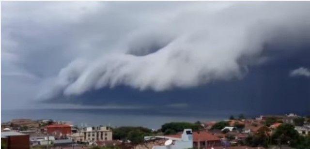 Video: la asombrosa 'nube tsunami' de Sídney