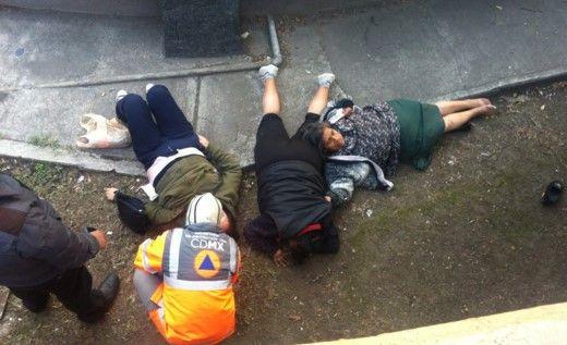 Tráiler arrolla a tres mujeres en Periférico - Foto: Efrén Argûelles