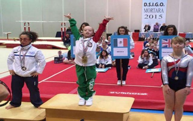 Mexicana, campeona del mundo de gimnasia junior - Foto:Excélsior