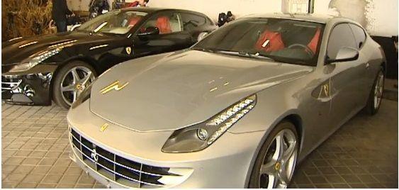 Sin éxito la subasta de Ferraris de rey Juan Carlos