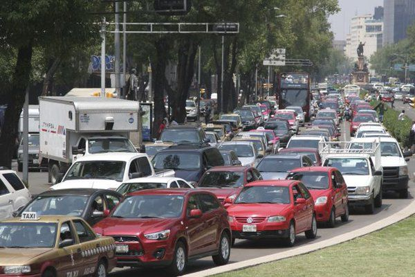 Manifestaciones y concentraciones afectarán tránsito en el D.F.