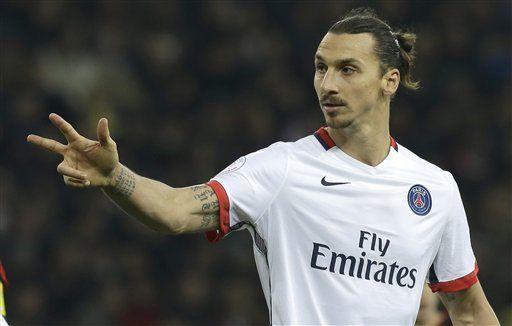 Ibrahimovic se consagra como goleador histórico del PSG en la liga - Foto de AP