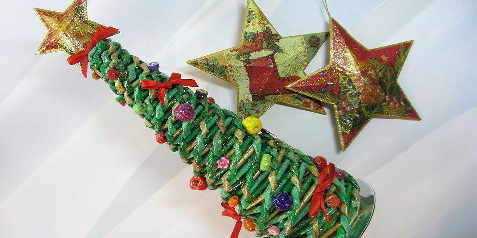 Estas son 30 ideas ingeniosas para árboles de Navidad en poco espacio
