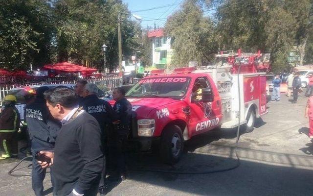 Explota bomba casera en Nicolás Romero
