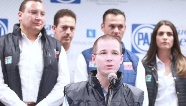 PAN denuncia ante INE a gobernador de Aguascalientes - Foto de @RicardoAnayaC
