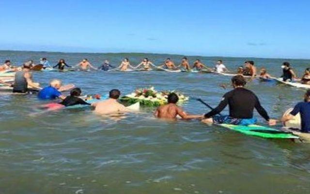 Comunidad surfista en México homenajea a los australianos desaparecidos - Foto: Adam Coleman Comunidad