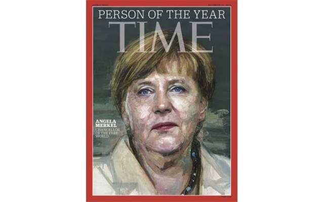 TIME nombra 'Persona del Año' a Angela Merkel - Foto de TIME