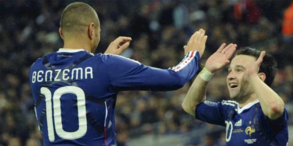 Valbuena es un amigo: Benzema - Foto de The Guardian