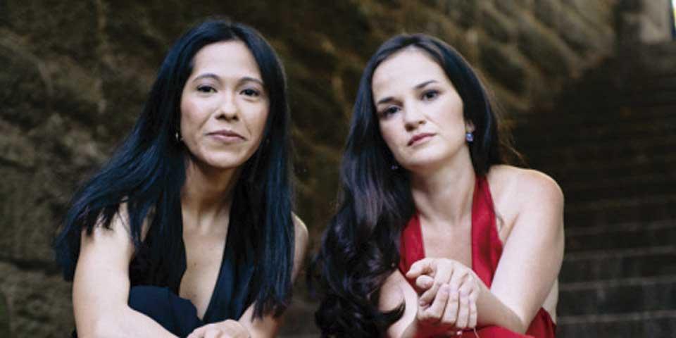 Pianistas mexicana y búlgara buscan apoyo para lanzar álbum - Foto de The Guevara-Zhelezova Piano Duo