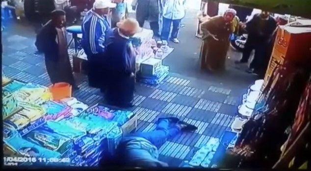 Video: mujer noquea a su acosador