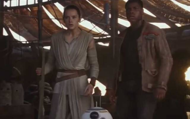 Nuevo tráiler de Star Wars: The Force Awakens - Foto de YouTube