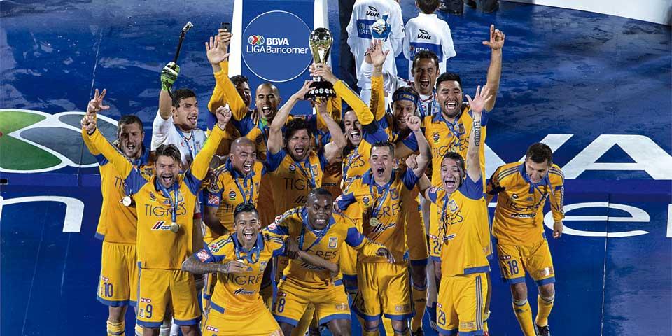 Pixel: campeones - Tigres campeón de México. Foto de Imago 7