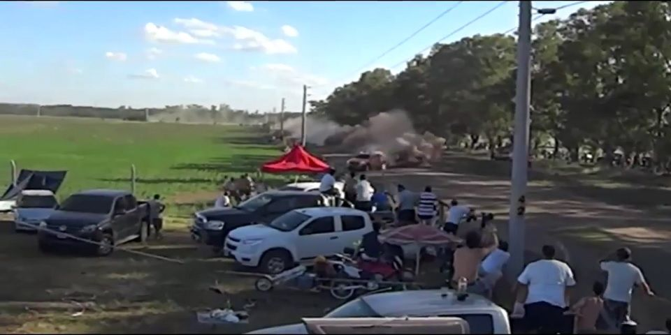 Video: impactante accidente en Rally Dakar
