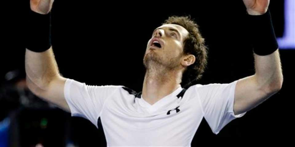 Murray enfrentará a Djokovic en final del Abierto de Australia - Andy Murray. Foto de AP