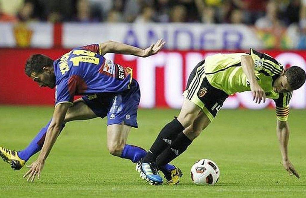 Levante contra Zaragoza en 2011. Foto de internet