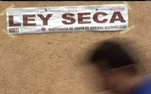 Aplican Ley Seca en Tláhuac por festival de Día de Muertos - ley seca