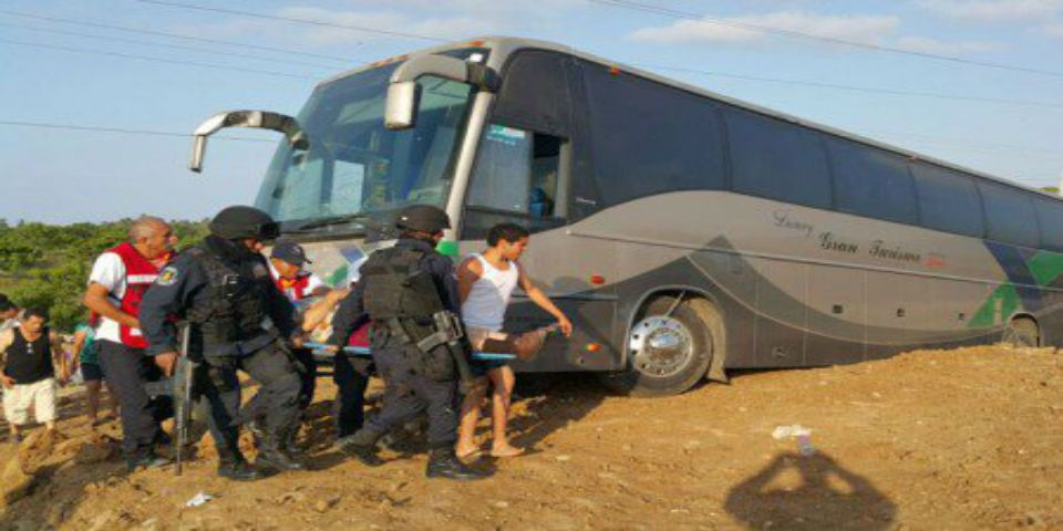 Accidente de autobús deja al menos 15 heridos en Guerrero - Foto de Quadratín