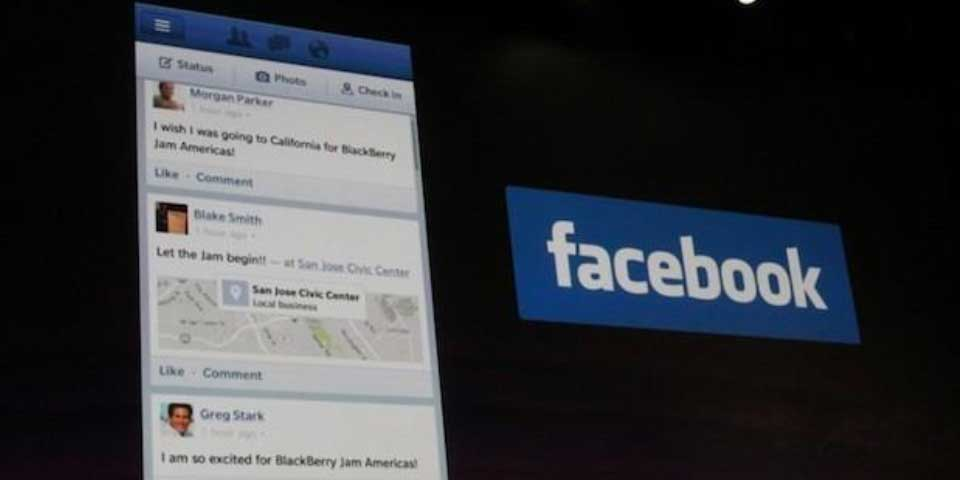 Facebook anuncia fin de soporte para BlackBerry - Foto de engadget
