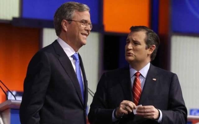 'Ted Cruz es el mejor antídoto contra Donald Trump': Jeb Bush - Foto de AP