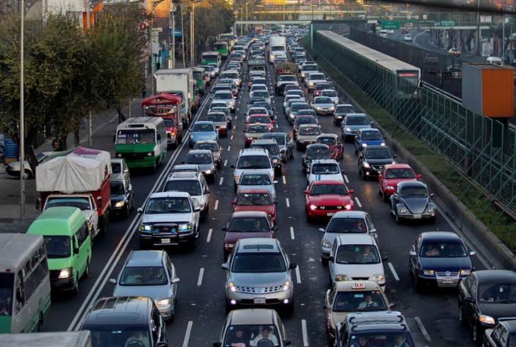 La Ciudad de México, con mayor congestionamiento vial en el mundo