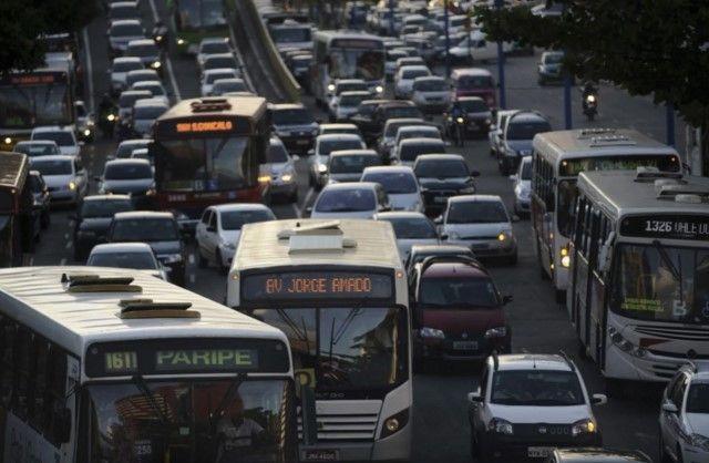 Tráfico en Recife. Foto tomada de Washington Post