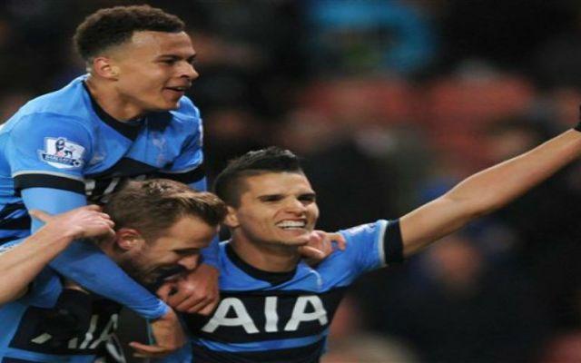 Tottenham golea y se pone a cinco puntos del Leicester City - Foto de Daily Mail Online