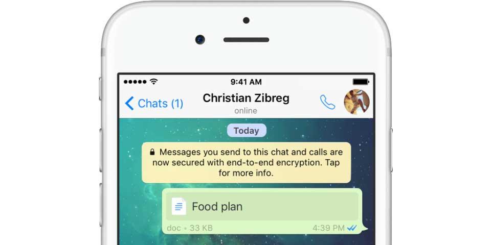 Actualización de WhatsApp permite enviar documentos de Office - Foto de Internet