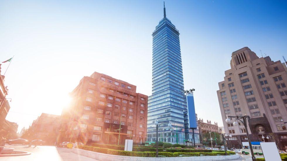 Pixel de aniversario 60, Torre Latino - Foto de Ulises Castellanos