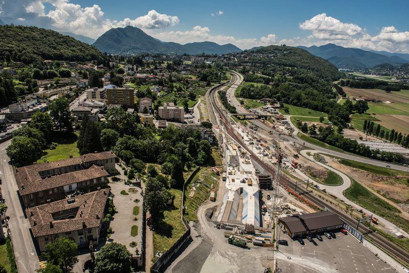 Galería: el túnel ferroviario más largo del mundo - Foto de Alp Transit Gotthard AG