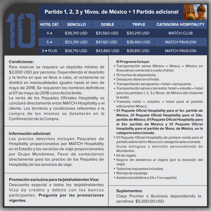 paquete mundomex 10