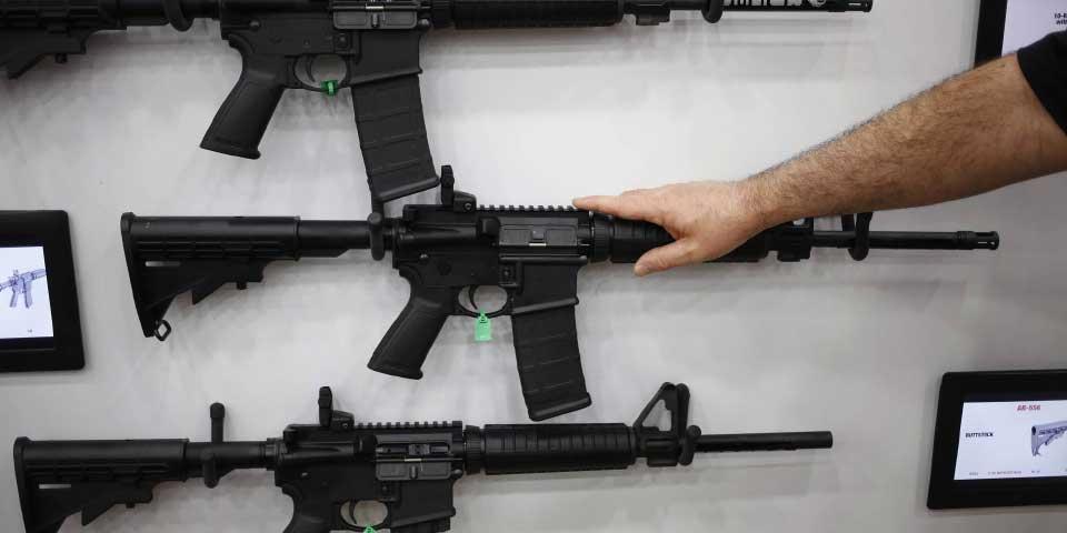 AR-15, el arma más utilizada por asesinos en masa en EE.UU. - Foto de Bloomberg