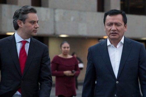 Osorio Chong y Nuño Mayer dialogan sobre agenda educativa - Foto de Twitter