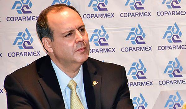 Coparmex plantea medidas urgentes tras reforma fiscal de EE.UU. - Gustavo de Hoyos Walther, titular de la Coparmex